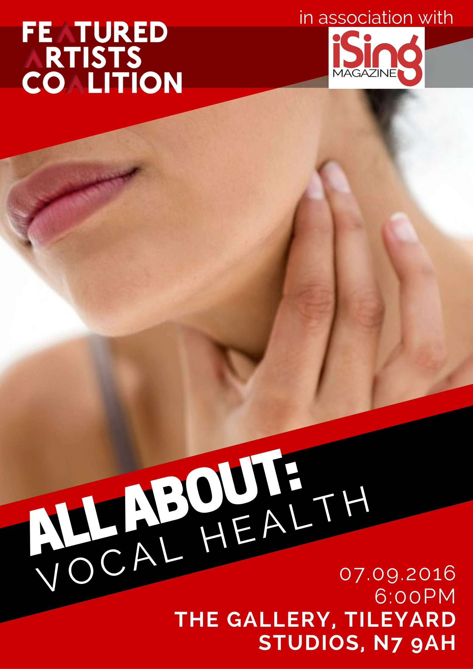 AA Vocal Health Flyer