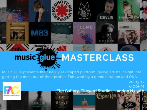 MG Masterclass Flyer